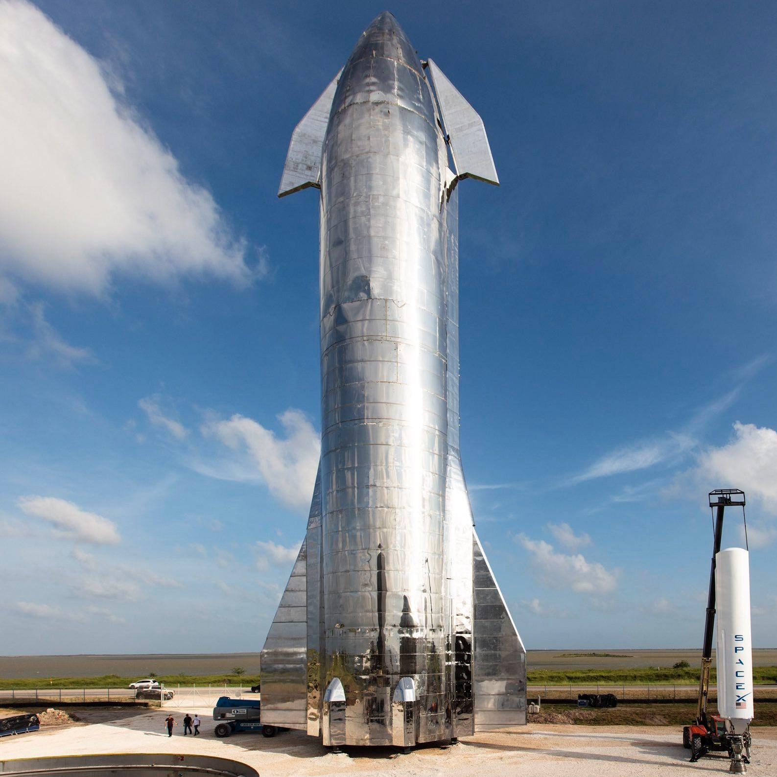 SpaceX starship. : MachinePorn